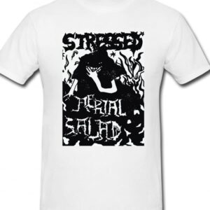 Stressed limited t-shirt Aerial Salad