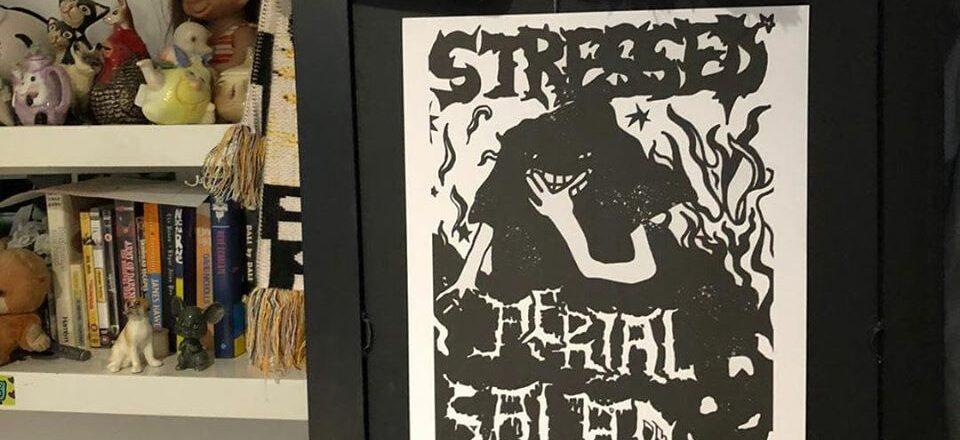 stressed print